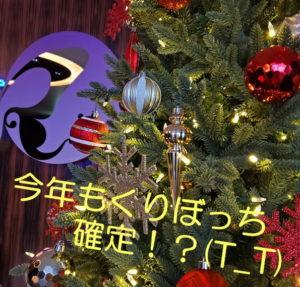 今年もくりぼっち(T_T)